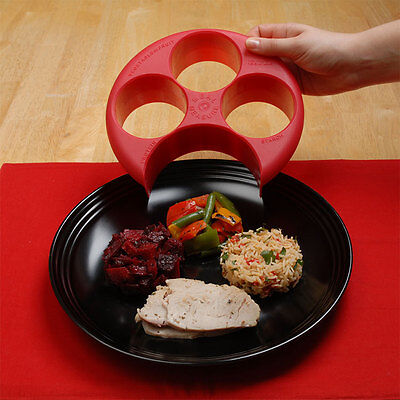Meal Measure - Perfect Portion Control Plate - Diet, Weightloss, Slimming new