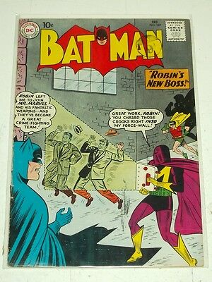 Batman #137 Vg+ (4.5) Dc Comics February 1961*