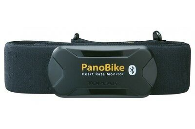 Topeak Panobike Heart Rate Monitor with Advanced Bluetooth Connectivity BLE 4.0