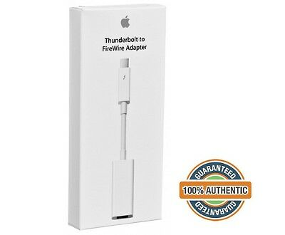 100% Original Genuine Apple Thunderbolt to FireWire Adapter Cable MD464ZM/A New