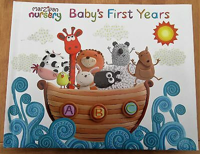 Marzipan Nursery Babys First Years Record Book Photo Memories Birth To 5 Years