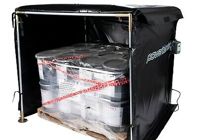 Bulk Material Warmer - Hot Box Heater - Powerblanket - HB54-1200 - 1200 Watts