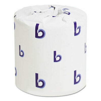 96 rolls - Boardwalk Two-Ply Toilet Tissue White, 400 Sheets/Roll ( BWK6144 )
