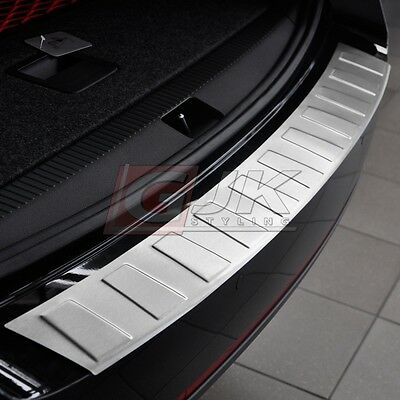 PEUGEOT 508 SW since 2010 REAR BUMPER PROTECTOR GUARD STEEL TR BRUSHED