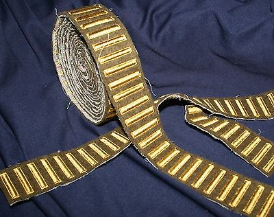 Wwii Ww2 U.s. Army Overseas Service Bars Gold On Od Wool Only .99 Per Bar!!