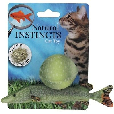All for Paws Natural Instincts Fisch mit Ball