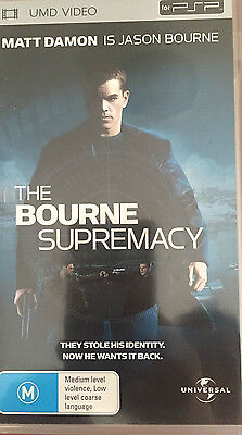 The Bourne Supremacy (Umd Video) For Psp