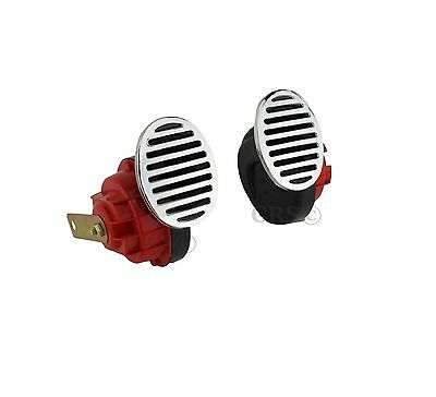 12V Super Loud Electric Horn Car Truck 115db High Low Universal Water Resistant