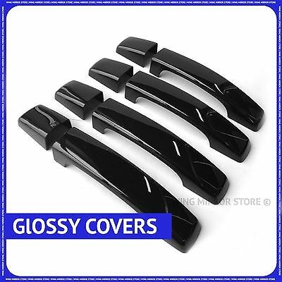 Gloss Black Door handle Covers for Range Rover Sport Discovery Freelander II