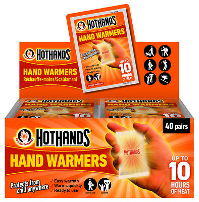 Hand Warmers (Pair) Golf Hiking Outdoor Activities Spectating upto 10 hours heat