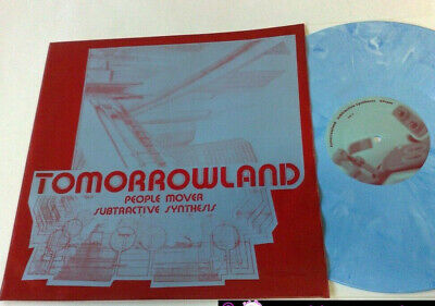 "Tomorrowland People Mover + Subtractive Synthesis 1999 Darla 12"" 45 Giri"
