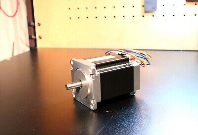 Nema 23 Stepper Motor, 3.5A 300oz in. 2.4mh Inductance (1/4in Double Shaft)