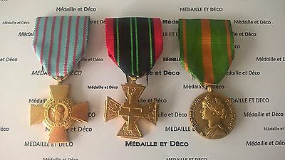 FRANCE Trio medal for the World War II Free French Forces