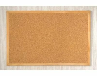 New 40 X 60Cm Wooden Frame Cork Pin Notice Memo Notes Message Board