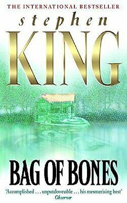 Bag of Bones, King, Stephen Paperback Book The Cheap Fast Free Post