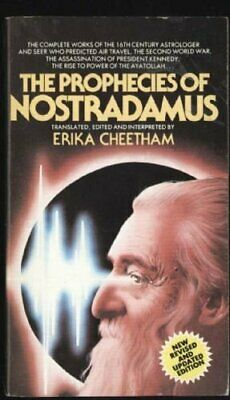 The Prophecies of Nostradamus by Erika Cheetham (editor) Book The Cheap Fast