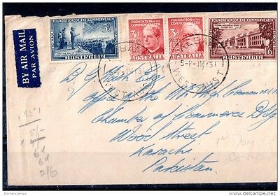 1951 Australia Commonwealth Firstday cover