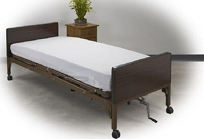 4 Fitted Hospital Twin Xl Bed Sheet 36X84X9 White T130 Hospital Fitted Medco