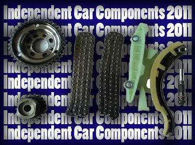 Ford 1.8 TDCi Lower Timing Chain Kit Injector Pump With Sprockets & Tensioner