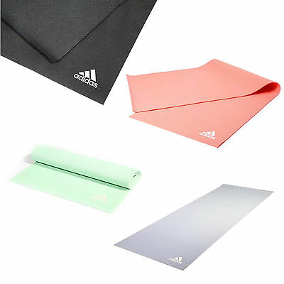 Adidas Yoga Mat Large 4mm Thick Exercise Gym Pilates Fitness Workout