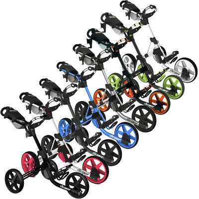Clicgear Golf 2017 3.5+ Push Trolley Cart - All Colours + FREE GIFT!