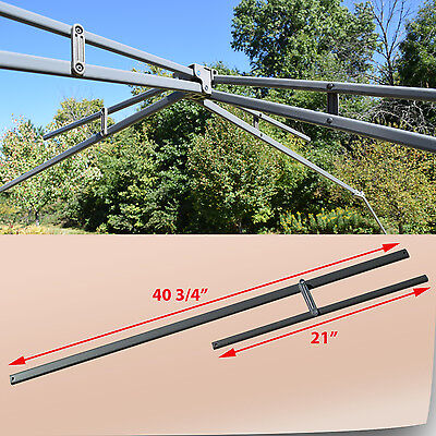 COLEMAN 13' X 13' Shelter Instant Canopy Gazebo UPPER ROOF POLE TRUS Bars  Parts