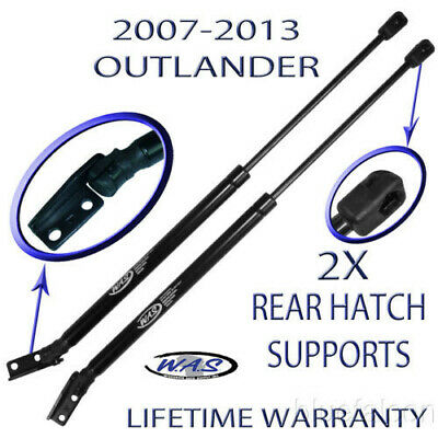 2 Two New Rear Hatch Liftgate Lift Supports Shock Arm Rod For 07-2013 Outlander