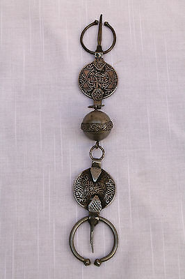 Magnificent 19C Rare Islamic Silver Prayer