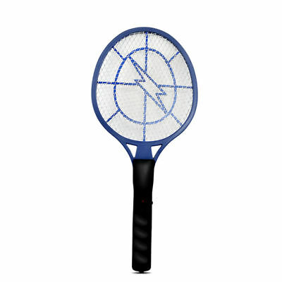RECHARGEABLE OR BATTERY Power Mosquito Killer Bug Zapper Fly Swatter