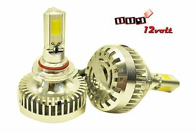 9006 HB4 9012  80W 7200LM COB. LED 6000K Headlight/Fog / 3 Side LED-Super White