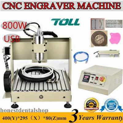 1.5KW 6040 CNC ROUTER ENGRAVER Engraving Drilling Carving Cutter Machine 3 AXIS