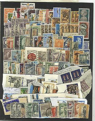 97 Timbres  Grece Europe