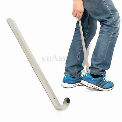 50cm Long Shoe Horn Stainless Steel Metal Remover Durable Shoehorn AID Stick