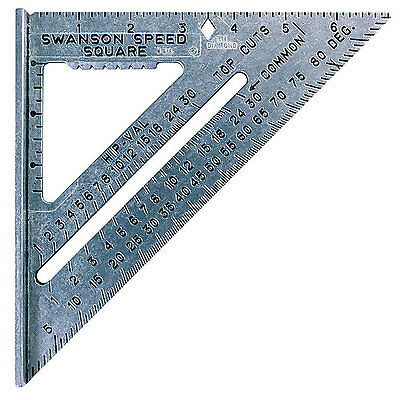 Swanson Tool SO101 7-inch The Speed High-Grade Aluminum Alloy Square