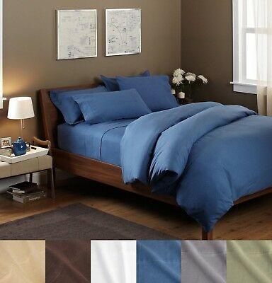 100% Egyptian Cotton Flannel Pillowcases Set of Two Pillow Covers Per Set