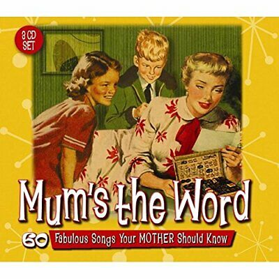 Various Artists - Mum's The Word: 60 Fabulous Songs... - Various Artists CD MOVG