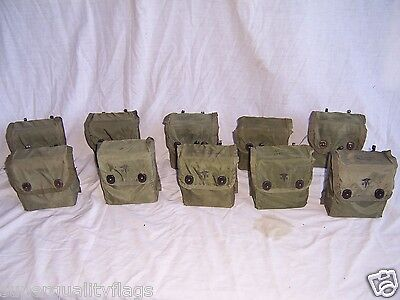 10 First aid kit boxes & covers US military genuine GI military whole sell lot