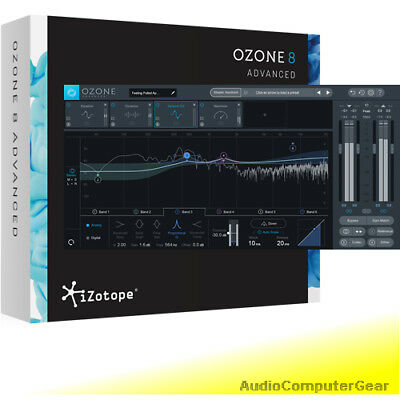 iZotope OZONE 7 ADVANCED EDU Mixing Mastering System Audio Software NEW