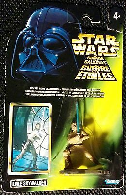 Star Wars Die Cast Metal Figure Luke Skywalker Kenner 1996