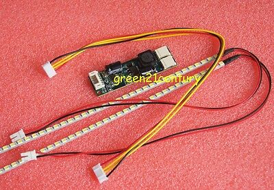 "455mm LED Backlight Strip Kit,Update 20"" 20.1"" 20 inch CCFL LCD Screen to LED"