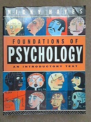 Foundations of Psychology: An Introductory Text by Hayes, Nicky Paperback Book
