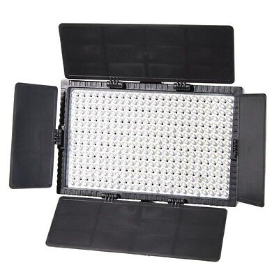 Falcon Eyes Photography Studio LED Lamp Set Dimmable DV-384CT-K2 with Battery
