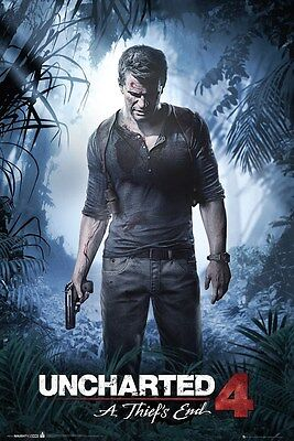 Uncharted 4 A Thief's End Poster 61x91.5cm