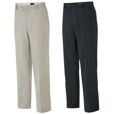 Cypress Point Mens CPPNT1425 Classic Golf Trousers Flat Front Pant