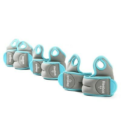 Reebok Wrist Weights Womens Strength Training Running Fitness Gym Exercise