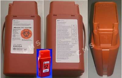 COVIDIEN KENDALL SharpSafety Transportable Flip Top Sharps Container 1Qt Shuttle