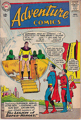 ADVENTURE Comics no. 314