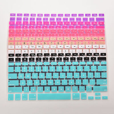 New Silicone Soft Keyboard Cover Specialized for American laptop Macbook air