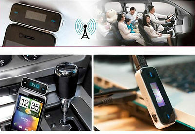 3.5mm CAR Radio FM Transmitter Accessory For MP3 MP4 iPhone 5 5C 5S 6 plus iPod