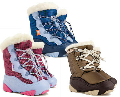 WINTER BOOTS WARM KIDS Toddler Baby Child Woollen Fur Snow Shoes Boy Girl